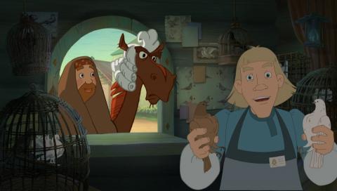 кадр №187540 из фильма Три богатыря. Ход конем