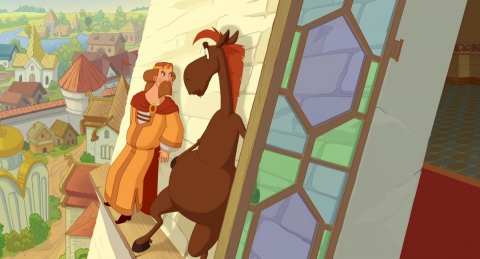 кадр №187542 из фильма Три богатыря. Ход конем