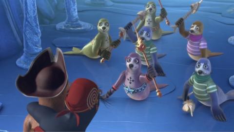 кадр №187907 из фильма Олли и сокровища пиратов
