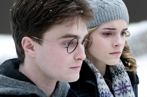 кадры из фильма Гарри Поттер и Принц-полукровка Эмма Уотсон, Дэниэл Рэдклифф,