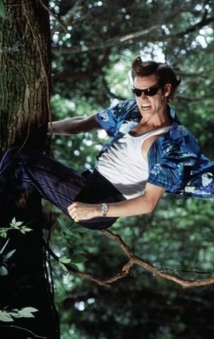 кадры из фильма Эйс Вентура: Когда зовет природа Джим Кэрри,