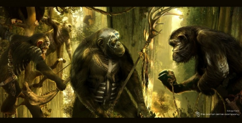 кадр №192354 из фильма Планета обезьян: Революция