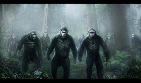 кадр №192356 из фильма Планета обезьян: Революция