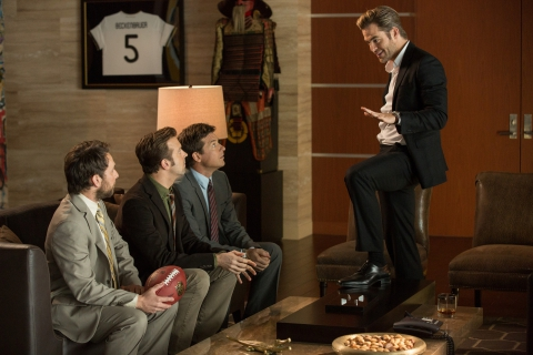 кадры из фильма Несносные боссы 2 Чарли Дэй, Джейсон Судейкис, Джейсон Бэйтмен, Крис Пайн,