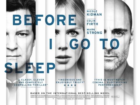 плакат фильма биллборды Прежде чем я усну