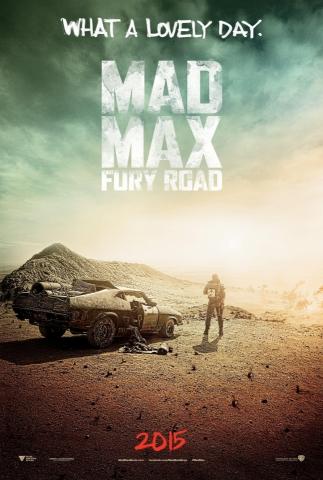 плакат фильма постер Безумный Макс: Дорога ярости