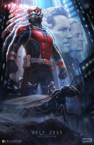 плакат фильма постер Человек-Муравей