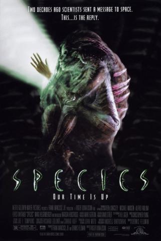 плакат фильма постер Особь