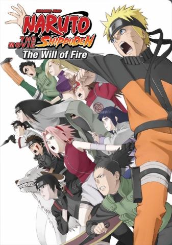 плакат фильма DVD Наруто: Наследники Воли Огня*