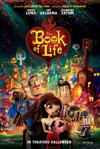 плакат фильма постер Книга жизни