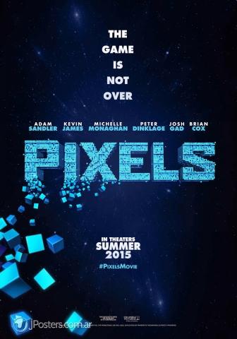 плакат фильма постер Пиксели