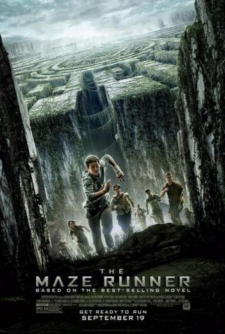 плакат фильма постер Бегущий в лабиринте