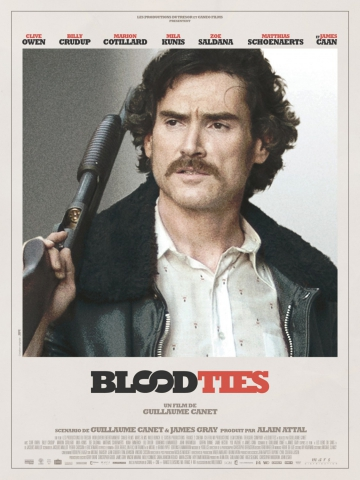 плакат фильма характер-постер Кровные узы