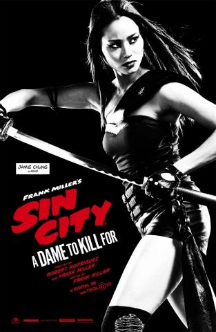 плакат фильма характер-постер Город грехов 2
