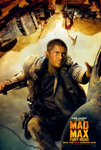 плакат фильма характер-постер Безумный Макс: Дорога ярости