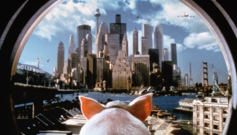 кадр №193913 из фильма Бэйб: Поросенок в городе