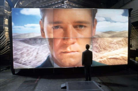 кадры из фильма Виртуальность Рассел Кроу,