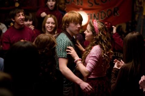 кадры из фильма Гарри Поттер и Принц-полукровка Руперт Гринт,
