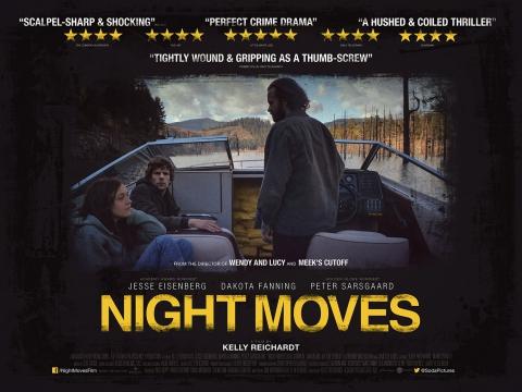 плакат фильма биллборды Ночные движения