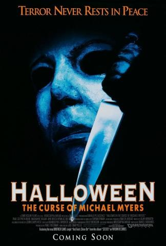 плакат фильма постер Хэллоуин: Проклятье Майкла Майерса