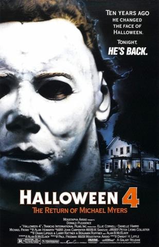 плакат фильма постер Хэллоуин 4: Возвращение Майкла Майерса