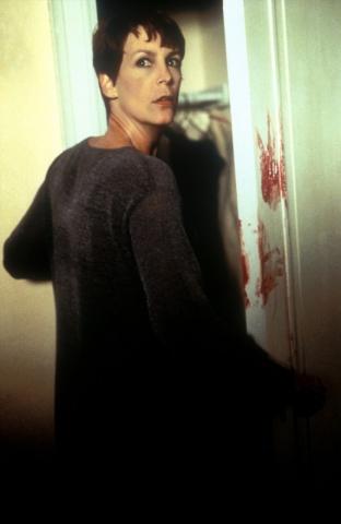 кадры из фильма Хэллоуин: Двадцать лет спустя Джейми Ли Кертис,