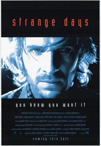плакат фильма постер Странные дни