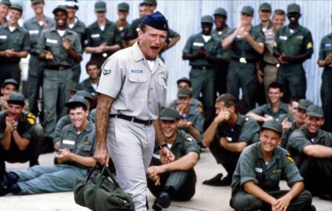 кадры из фильма Доброе утро, Вьетнам Робин Уильямс,