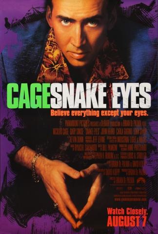 плакат фильма постер Глаза змеи
