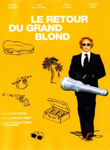 плакат фильма DVD Возвращение высокого блондина