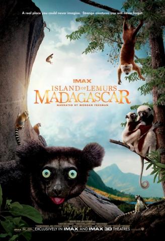 плакат фильма постер Остров лемуров: Мадагаскар