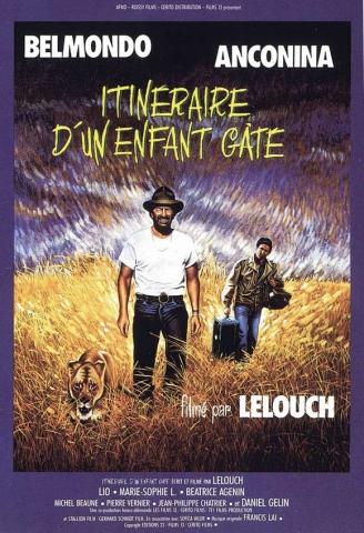 плакат фильма постер Баловень судьбы