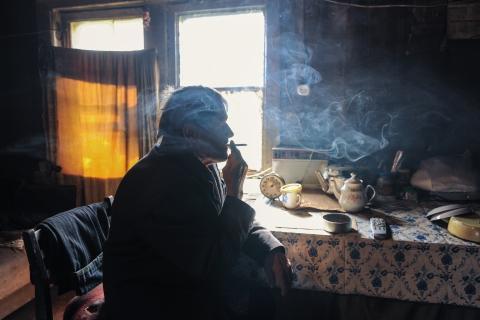 кадры из фильма Белые ночи почтальона Алексея Тряпицына