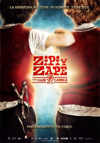 плакат фильма постер Зип и Зап. Клуб стеклянных шариков