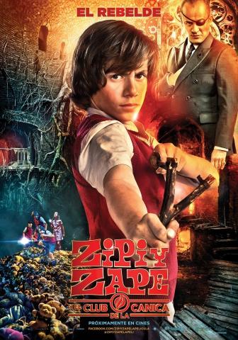 плакат фильма характер-постер Зип и Зап. Клуб стеклянных шариков