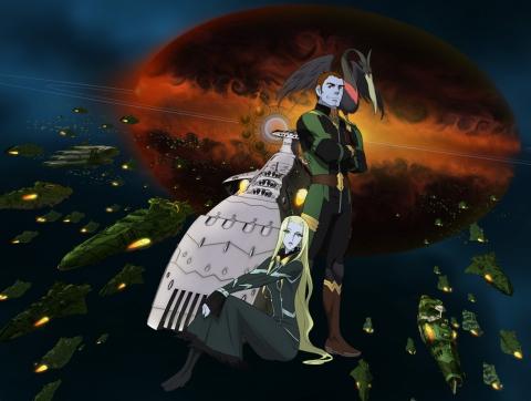 кадр №196640 из фильма Космический линкор Ямато 2199. Фильм V*