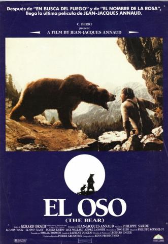 плакат фильма постер Медведь