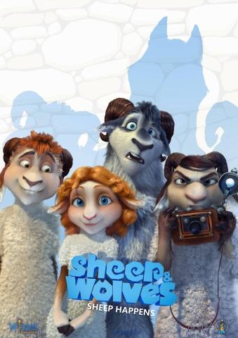 плакат фильма постер Волки и овцы: бе-е-е-зумное превращение