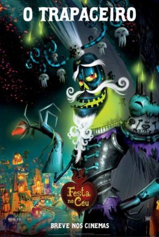 плакат фильма характер-постер Книга жизни