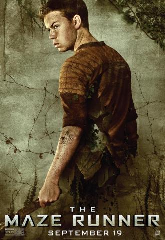 плакат фильма характер-постер Бегущий в лабиринте