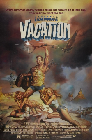 плакат фильма постер Каникулы