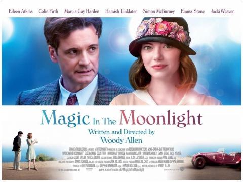 плакат фильма биллборды Магия лунного света