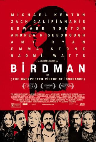 плакат фильма постер Бёрдмэн или Неожиданное достоинство невежества