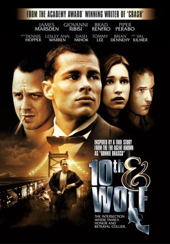 плакат фильма постер Пересечение 10-й и Вульф
