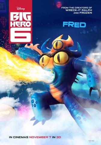 плакат фильма характер-постер Город героев