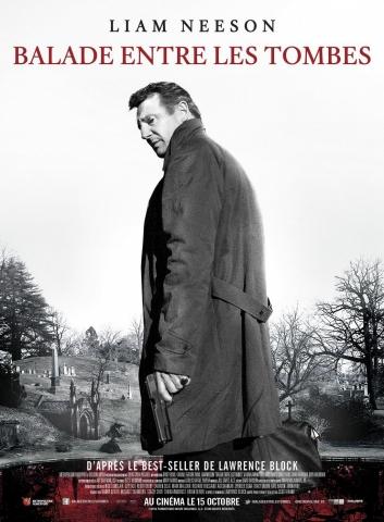 плакат фильма постер Прогулка среди могил