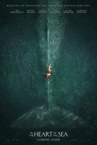 плакат фильма постер В сердце моря