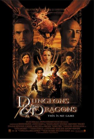 плакат фильма постер Подземелье драконов