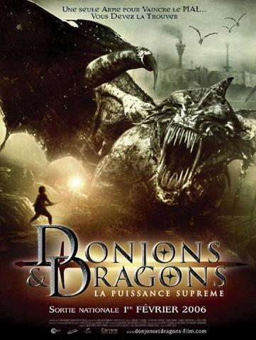 плакат фильма постер Подземелье драконов: Источник могущества
