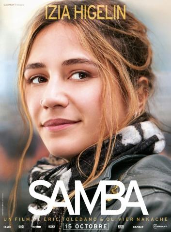 плакат фильма характер-постер Самба